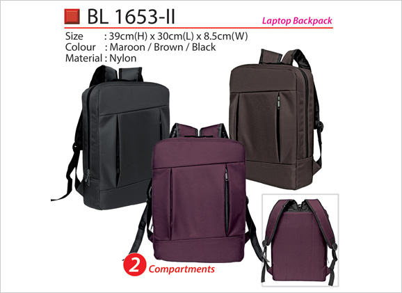 Compact Stylist Laptop Backpack BL1653ii BL1653