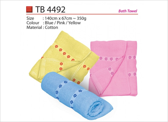 Flower Bath Towel TB4492