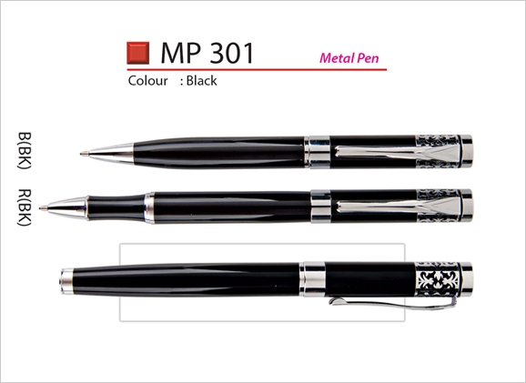 Metal Rollerball Pen & Metal Ballpoint Pen MP301