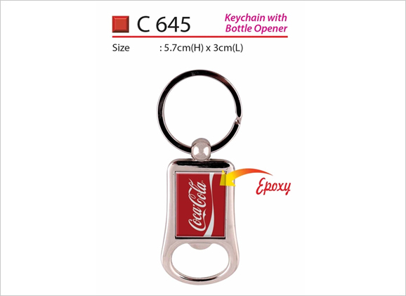 Keychain with Bottle Opener C 645