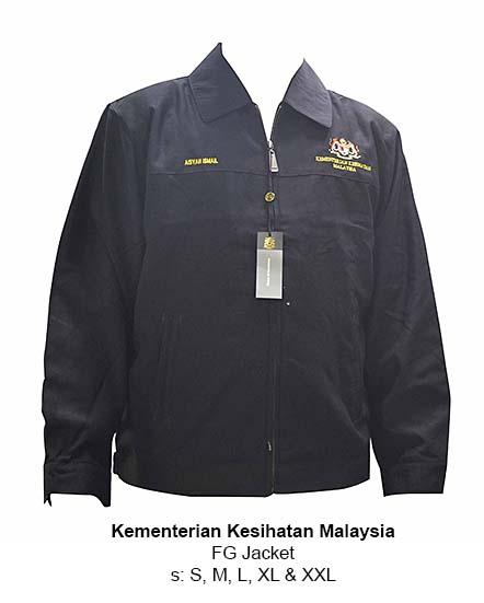 FG Jacket Kementerian Kesihatan Malaysia-170418