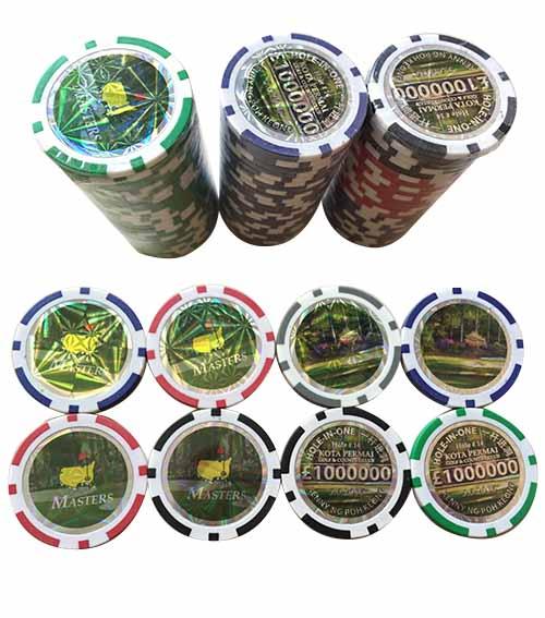 Golf Marker Casino Poker Chip-s