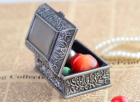 Pewter Jewelry Box 3